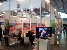 Talks at HIGHVOLT's exhibition stand