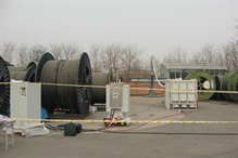 WRV 83/260 T test system from HIGHVOLT during a successful cable test in China